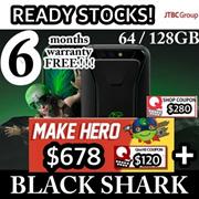 [预购!] XIAOMI BLACK SHARK GAMING PHONE | 64GB / 128GB |保修套|限量!