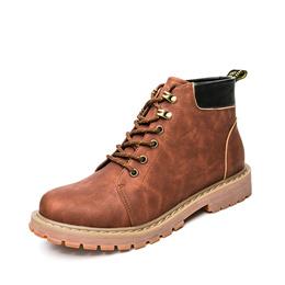 工厂贴牌 超纤皮橡胶底  男子户外工装潮鞋2020