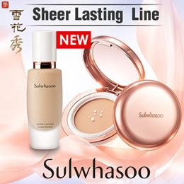 ◆Sulwhasoo◆ Sheer Lasting Gel Cushion 12g / Sheer Lasting Foundation 30ml
