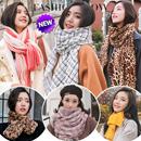 2018年新款围巾★英国/韩国格子披肩★女士男士情侣印花围巾★空调披肩