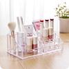 大号透明桌面化妆品收纳盒塑料亚克力梳妆台化妆品口红收纳整理架