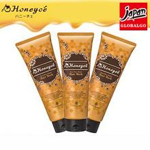 【日本直邮】Honeyce柑橘蜂蜜天然集中修复受损发质发膜 200g X 3支