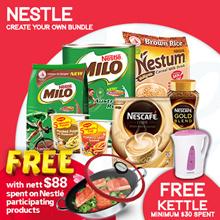 [NESTLE]创建您自己的Nescafe x Milo x Maggi x Nestum Bundle获得免费水壶!