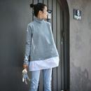 R5555 韩版宽松拼接磨毛保暖中长款高领加厚打底卫衣2019新款米可可
