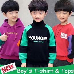 2019 Kids T-shirt / Tops / Hoodies / Jacket / Children Long-sleeved shirt / Sportswear