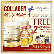 [只需33.45美元/件!]◆NANO 1 + 1 BEST COMBO NANO COLLAGEN 35天+ NANO ROYAL JELLY 35天
