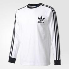 【韩国直邮】Adidas  男款长袖条纹休闲T恤|柔软吸汗透气|100%正品|货号BK5863|多个尺寸可选|[Kconcept]