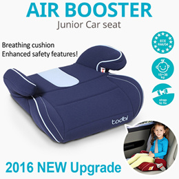[TODBI][TODBI]New Upgrade Safety Air Booster Junior Car Seat/Kids Children/Portable Easy High Chair♥