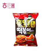 【海地村】韩国食品进口海太甜辣炒年糕条膨化休闲食品糯米辣条110g