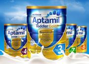 [纸箱销售] Aptamil Gold +优质牛奶配方/从新西兰进口6罐