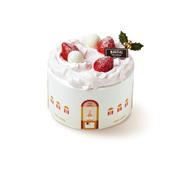 (广州)圣诞草莓天使戚风蛋糕