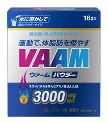 VAAM粉葡萄柚口味10.5g×16袋饮食