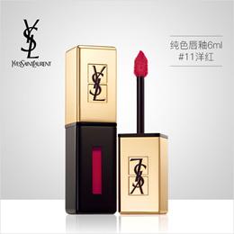 【香港直邮】YSL 圣罗兰纯色唇釉6ml|#11洋红|光泽闪亮|持久|Rouge Pur Couture Vernis A Levres Glossy Stain|#11 Rouge Gouache