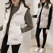 外套冬季女装韩版短款棉衣2016新款学生宽松背心马甲羽绒棉服女潮