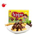 【海地村】韩国食品进口 奥利恩蘑菇型巧克力饼干50g 儿童零食小蘑菇