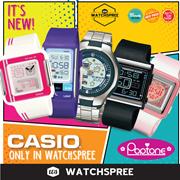 [优惠价格] *卡西欧系列* POPTONE手表系列!免费送货和1年保修!