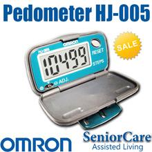 欧姆龙1年本地保修HJ-005计步器心率监测器运动跟踪防水