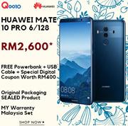[RM2,600.00优惠券应用后] HUAWEI MATE 10 PRO 6 + 128 /特别独家数字优惠券