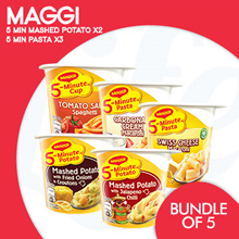 [NESCAFE]【MAGGI CUP BUNDLES】土豆泥+ Maggi面食!不同的味道