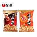 【海地村】韩国食品进口农心鲜虾条90g 原味|香辣味| 薯条膨化食品脆脆条大米条脆饼干