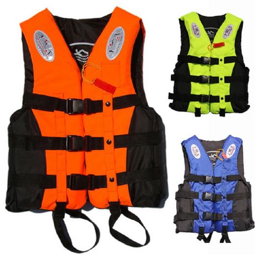 成人和儿童救生衣背心PFD完全包围泡沫划船捕鱼安全鞋Colete萨尔瓦维达斯随着口哨尺码ML XL XXL XXXL
