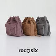 【韩国直购】 ★rorococo★时尚双肩包| 三色可选| 韩国东大门正品直邮|新品上市 [rocosix]  tessel shoulder string bag