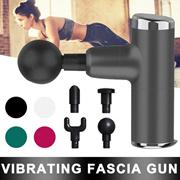 迷你便携USB充电电动按摩枪肌肉放松按摩器便携健身器材 筋膜枪