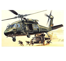 UH-60L 12111 1/35规格BLACK HAWK型号套件军用直升机