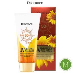 UV Defense Sun Cream 70g (SPF50+ PA+++) ◆DEOPROCE◆ Non-sticky refreshing Moist soft fluffy