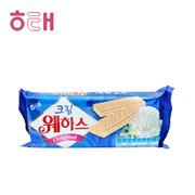 【海地村】韩国食品进口 海太奶油威化饼干  奶油味50g