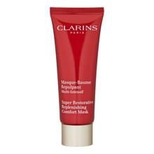 【香港直邮】Clarins 活龄系列 极致瞬间舒缓面膜75ml芒果精油|紧致肌肤|Clarins Super Restorative Replenishing Comfort Mask 75ml