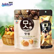 【海地村】韩国食品进口 希杰香思栗 42g 80g  即食栗子