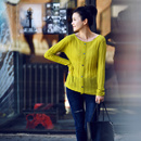 Z7081 韩版圆领修身显瘦坑条开衫女人味薄款针织衫女多色2019秋