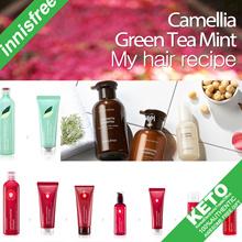 [innisfree]山茶绿茶薄荷洗发水/护发素/干燥剂/棒蜡造型凝胶